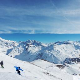 freetoedit mountain skies