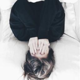 upsidedown photography girl challenge freetoedit