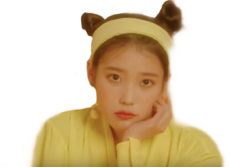 freetoedit leejieun iu yellow solo