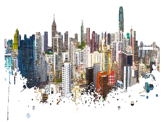 hongkong cityscape freetoedit