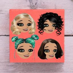 freetoedit wig ircpantonecolor pantonecolor coral