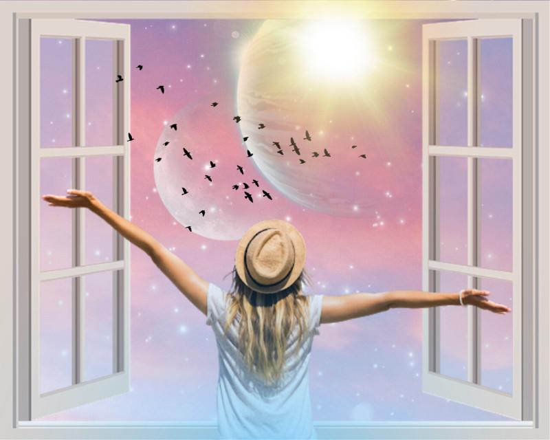"""Greet The Morn!"" - - #goodmorning  #freetoedit"