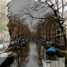 vacation throwback amsterdam canal doubleexposure freetoedit