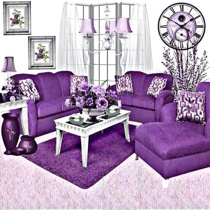 freetoedit room livingroom purple white rug carpet cloc...
