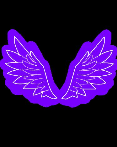 #skrzydła #tiktok #neon #wings