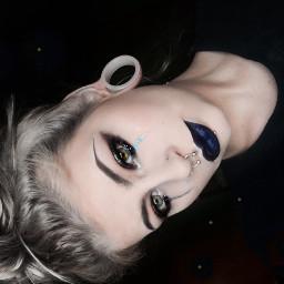 kaylamorbid tattoed pierced alternativegirl alternativemodel scenegirl freetoedit