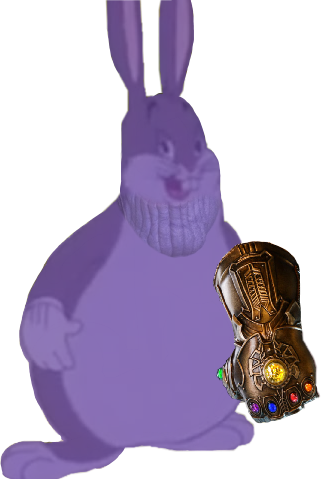 Big Chungus Meme For Yall Thanos Infinity War Art Chun