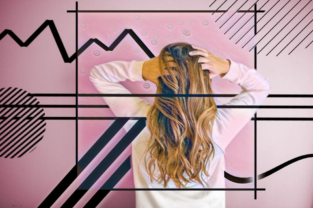 #freetoedit  #remixchallenge #remixed #filtereffect #lineart #black #girl #woman #back  #hair #rosa