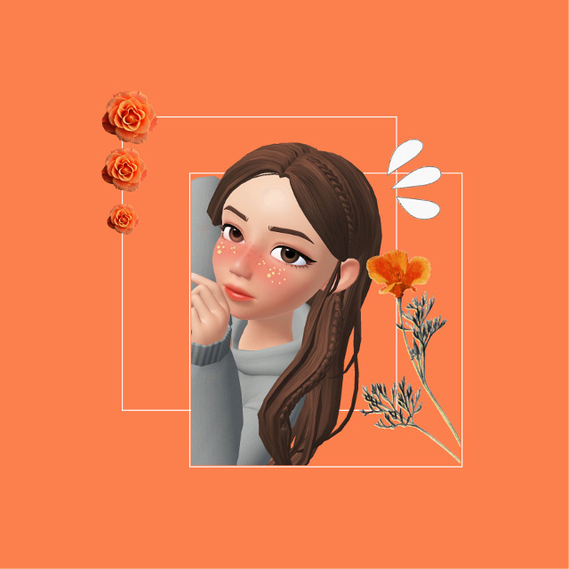 pluto (YR1H8U) 1/2  #freetoedit #zepeto #zepetogirl #edit #zepetoedit #zepetoapp #girl #orange #aesthetic