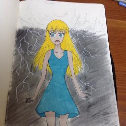 inktober inktober2018 thunder lightning myart