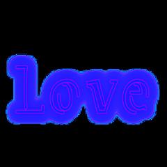 love neon neonlove ftestickers valentinesday fteblue freetoedit