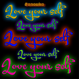 loveyourself love neon neonlove ftestickers fteyellow freetoedit