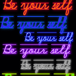 beyourself love neon neonlove ftestickers fteyellow freetoedit
