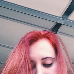 pink hair pinkhair hairdye photography