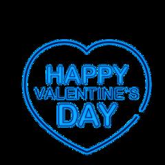 valentinesday neon sticker love freetoedit