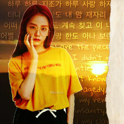 jisoo kimjisoo clarity yellow yellowaesthetic freetoedit