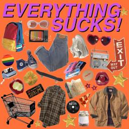 freetoedit everythingsucks tvshow 90s vintage