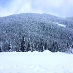 winter 2019 snow mountains carpathians freetoedit