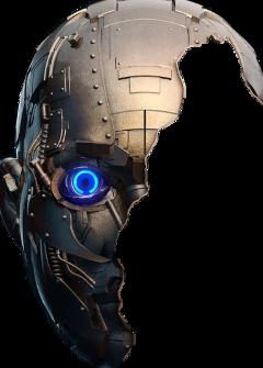 robot face freetoedit