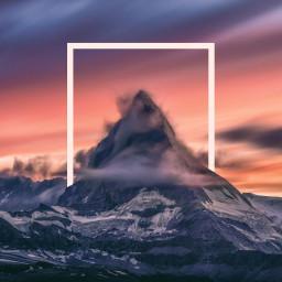 freetoedit mountain shape remix remixgalleries