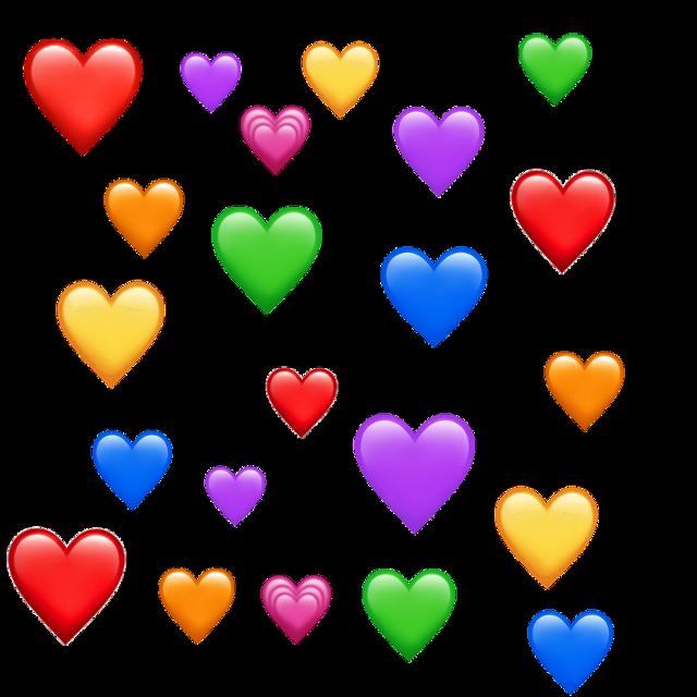 #tło #emoji #heart #hearts #colors #2019 #trumblr #tiktok #edit #insta #lol #love 💞💙💜🧡
