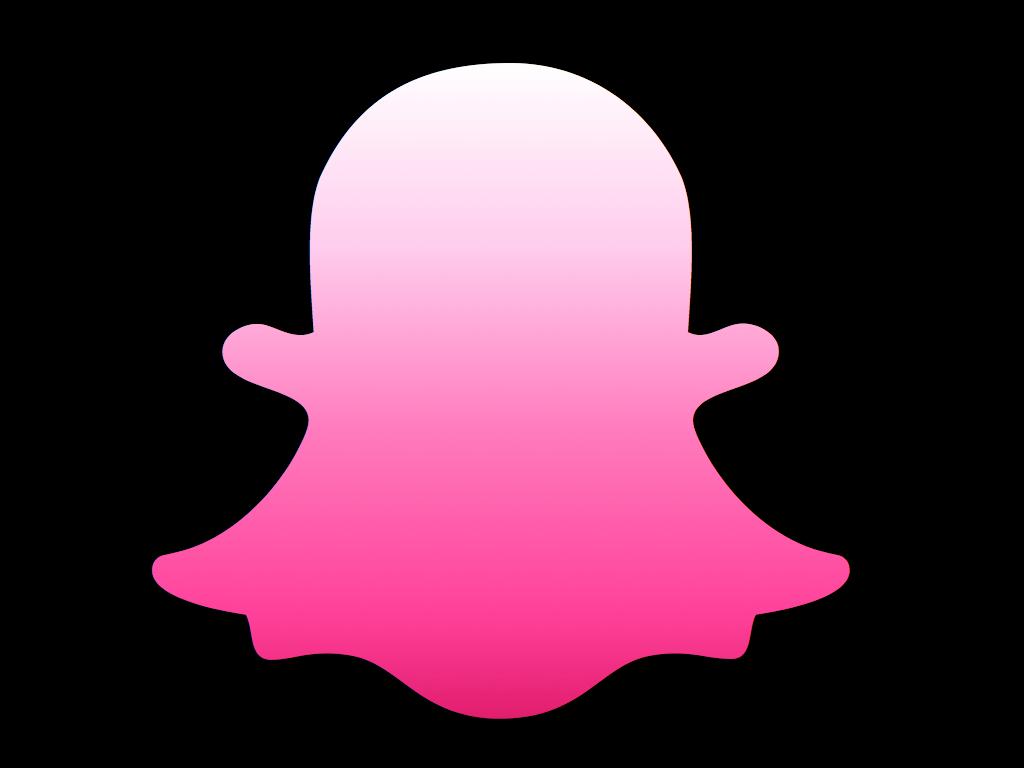 Snapchat pink gold. Snap logo logodesigns cute