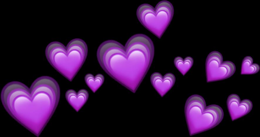 #emoji#crown#purpleheart