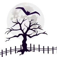 #ftestickers #moon #tree #bay