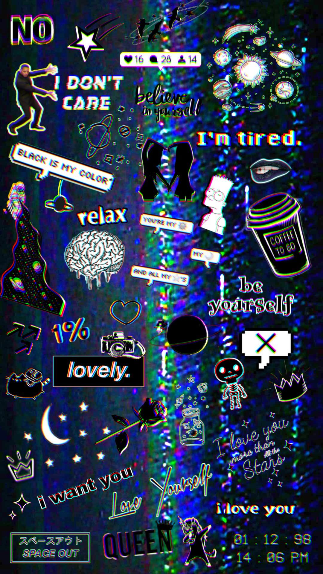 Wallpaper Background Wallpaper Tumblr Black Aesthetic
