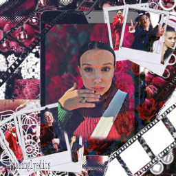 red milliebobbybrown freetoedit