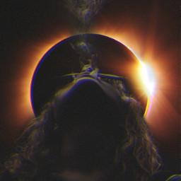 freetoedit woman smoking smoke heart eclipse irctotallunareclipse