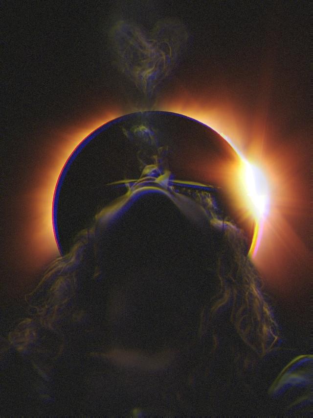 #freetoedit #woman #smoking #smoke #heart  #glitcheffect #picsarteffects #picsart #eclipse #noiseeffect  #remixed #remixme #remixit #irctotallunareclipse #totallunareclipse