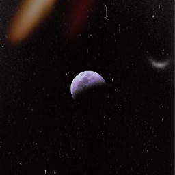 freetoedit moon eclipse space