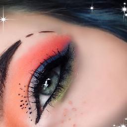 makeupartist makeupgoals fauxfreckles primarycolors eyebrowart