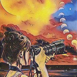 freetoedit moon moonlight eclispe srcmooneclipse
