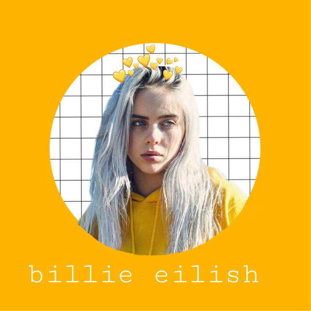 Billie Eilish ❤️❤️❤️#billieeilish #edit #yellow  #interesting #art #party #sky #edit #artedit #poland #photography