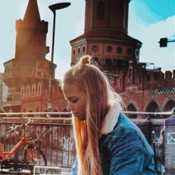 girlfriend freetoedit editit berlin vacation