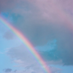 freetoedit nature skyandclouds rainyclouds rainbow
