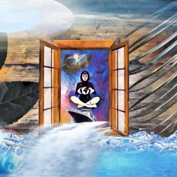 freetoedit ventana ventanaaotromundo stikers agua ircdoodlethis