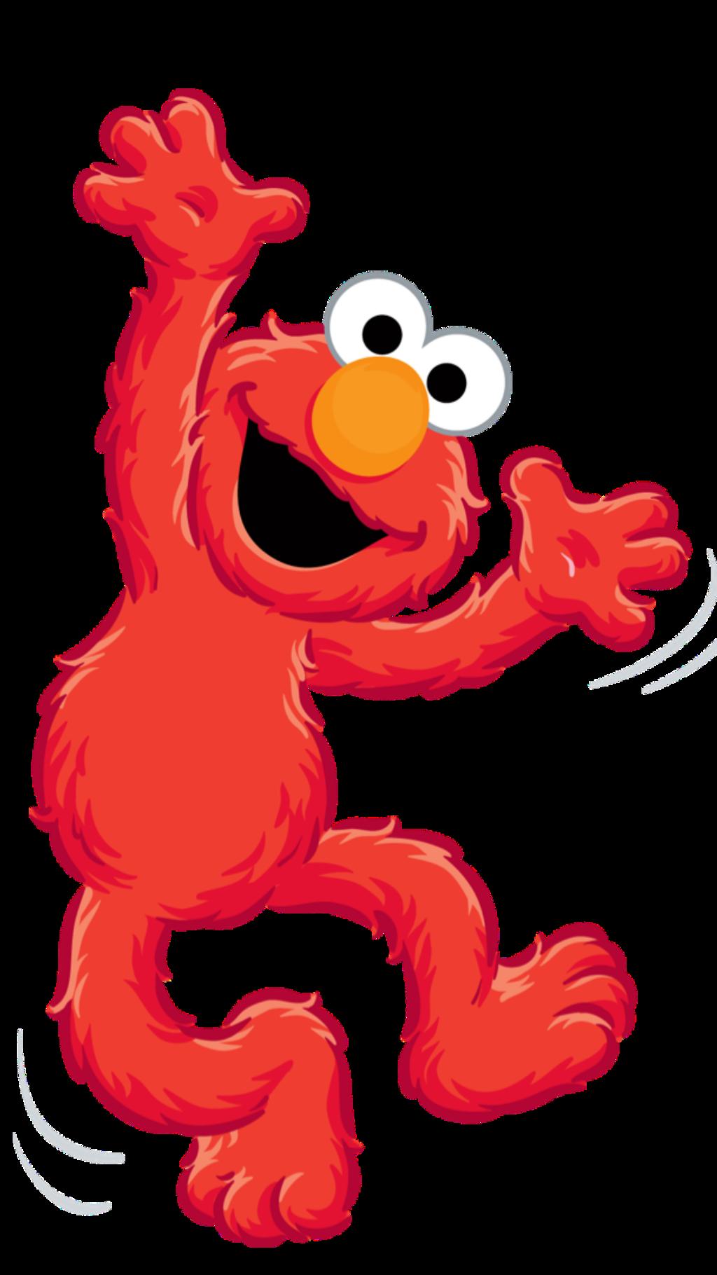 Elmo Cartoon Drawing Dance Jump Freetoedit