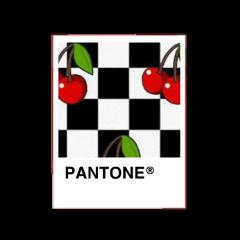 pantonecolor pantone cherry red checkers freetoedit