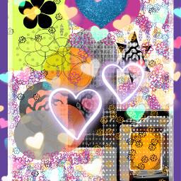 freetoedit bokehheartbrush colorpaint drawing