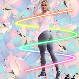 freetoedit rainbow yogalife party