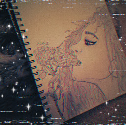 drawing billieeilish idontwannabeyouanymore rose girl