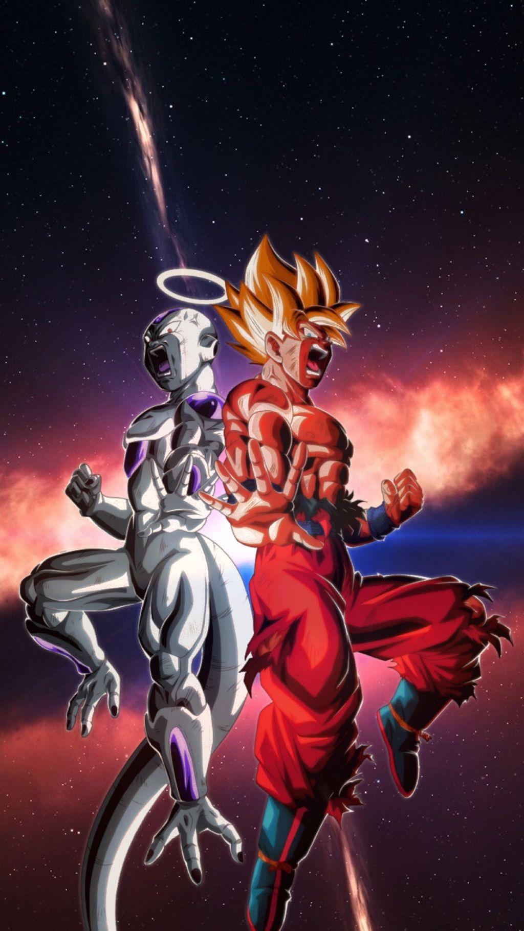 Freetoedit Goku Freezer Wallpaper Iphone Dbs Dragonball