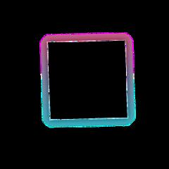 sticker square bts frame kpop