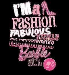 barbie fashion barbiegirl pink girly freetoedit