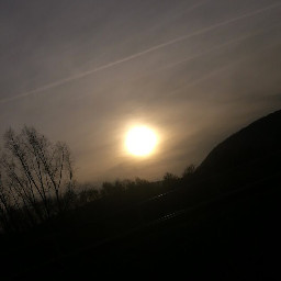 freetoedit sun sunset evening sky