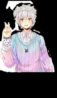 anime pastelboy pastel freetoedit