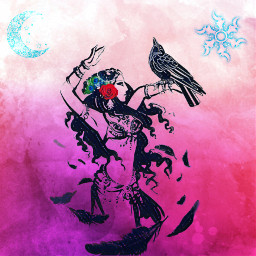 tribal bellydance crow picturebyme drawtools